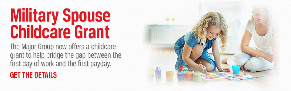 Military Spouse Childcare Grant