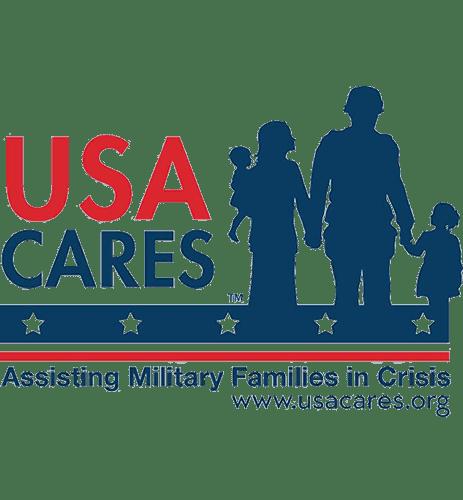 USA Cares Logo